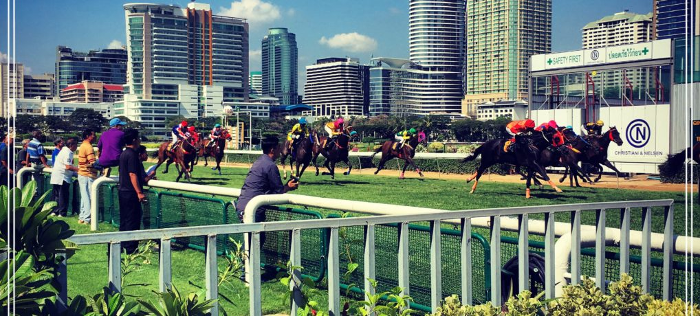 Horse Racing at Royal Bangkok Sports Club